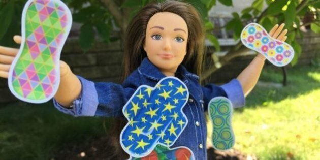 Lammily Doll: 'Normal Barbie' Now Comes With Menstrual