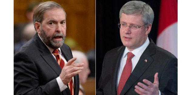 The NDP Has the Same Priority as the Conservatives -- Balance the