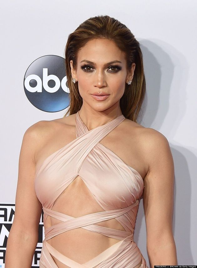 Jennifer Lopez AMAs 2014: Singer's Blush Dress Is Her Hottest