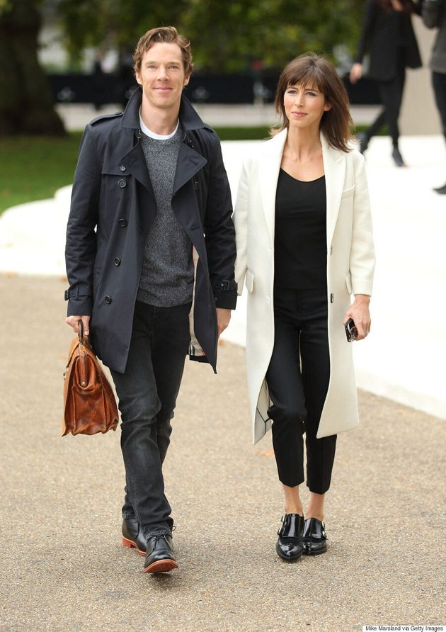 Benedict Cumberbatch Looks Devastatingly Handsome At Burberry's Spring/Summer 2016