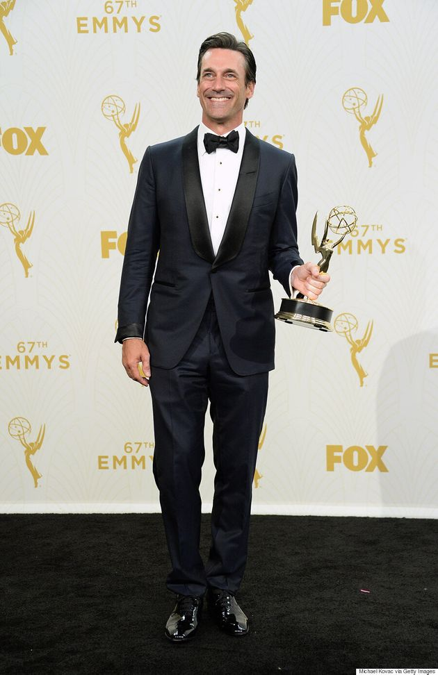 Jon Hamm Goes Dapper At The 2015 Emmys