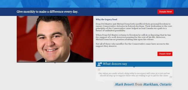 Hoax Website Targets Tories, Asks For Donations To 'Conservative Legacy