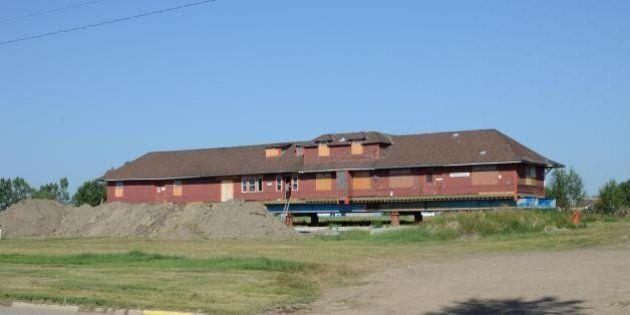 Historic Alberta Train Station Damaged By