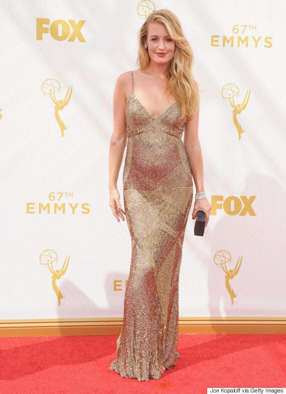 Cat Deeley Makes Pregnancy Look Darn Good On Emmys 2015 Red