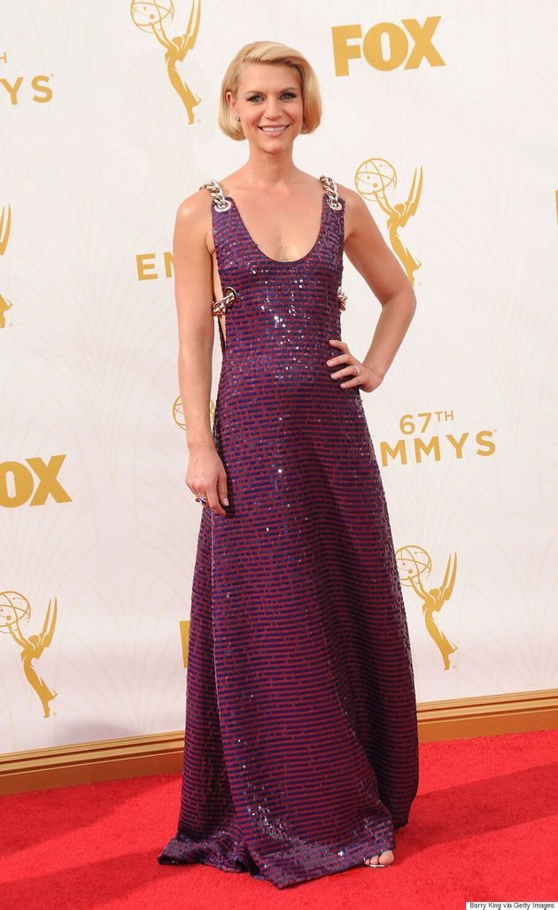 Claire Danes' Emmys 2015 Dress Is Sequined