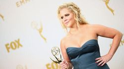 Amy Schumer Is Anything But A 'Trainwreck' On The Emmys Red