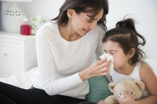 Countdown To A Sick Day: A Timeline Of Family Sickness, From Kid To