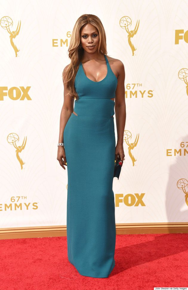 Laverne Cox Emmys 2015: 'Orange is the New Black' Star Stuns In Custom Calvin