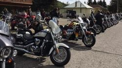 Motorcycle Convoy Honours Slain Alberta Toddler,
