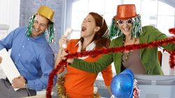 Sticky Situation: Classic Holiday Office Party