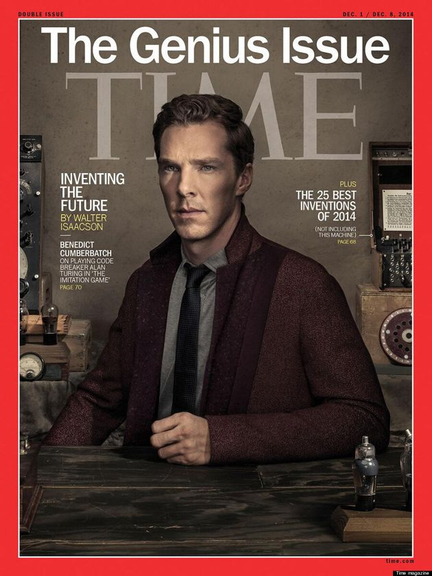 Benedict Cumberbatch Covers Time's 'Genius