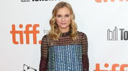 Diane Kruger's TIFF Dress Is A Beaded