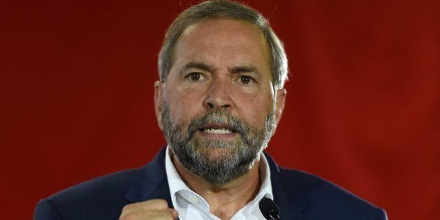 I Don't Appreciate the NDP's Fight for the Middle