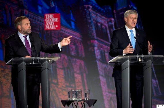 Harper: Mulcair Argued 'Against Canadian Jobs' In 2013 Trip To