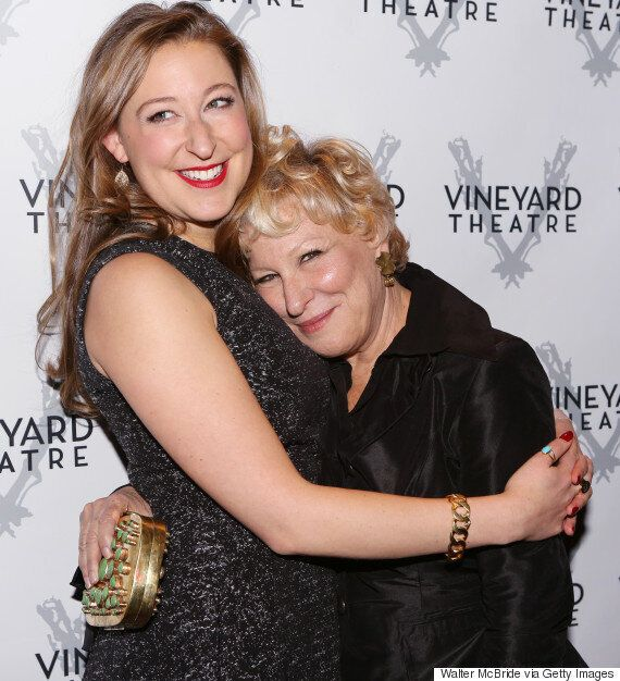 Celebrity Lookalike: Bette Midler And Her Daughter Sophie Look Exactly The