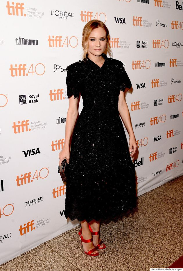 Diane Kruger TIFF 2015: Actress, Fashionista Dazzles In