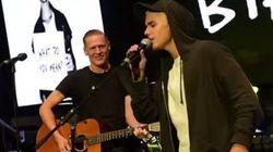 Justin Bieber, Bryan Adams Cover 'Baby' In Random Acoustic