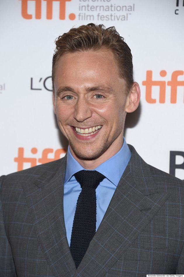 Tom Hiddleston Is All Smiles On TIFF Red