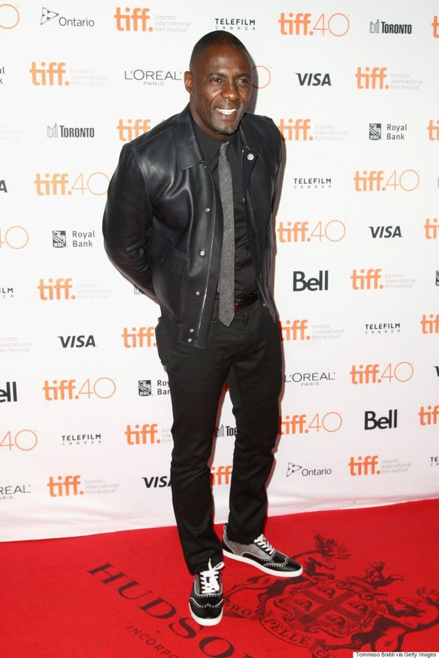 Idris Elba TIFF 2015: Star Plays It Cool In Leather And