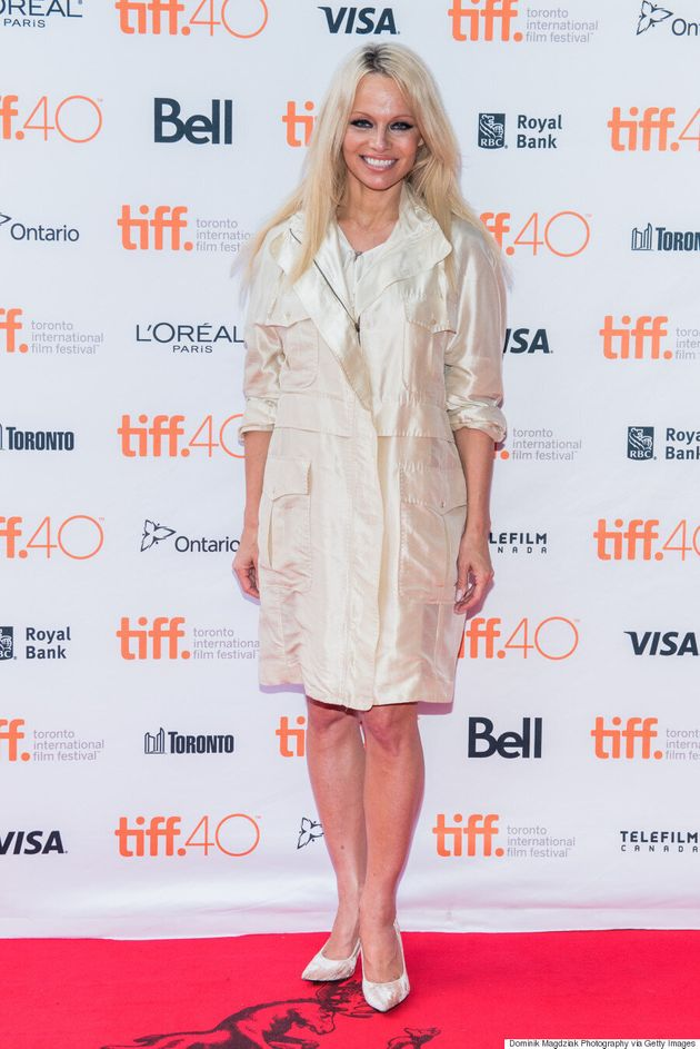 Pamela Anderson TIFF 2015: Actress-Turned-Activist Shines In