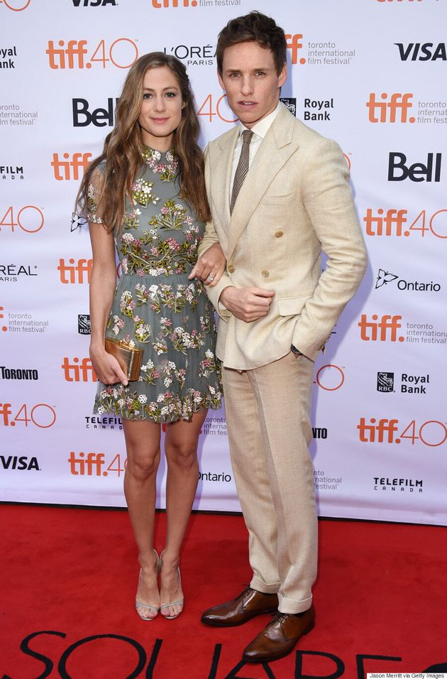 Eddie Redmayne TIFF 2015: 'The Danish Girl' Actor Wears The Most Dashing