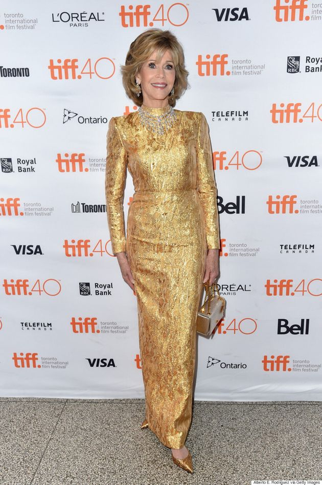 Jane Fonda TIFF 2015: The Acting Legend Dazzles In