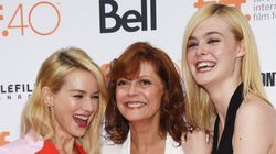 Elle Fanning Takes The TIFF Red Carpet By