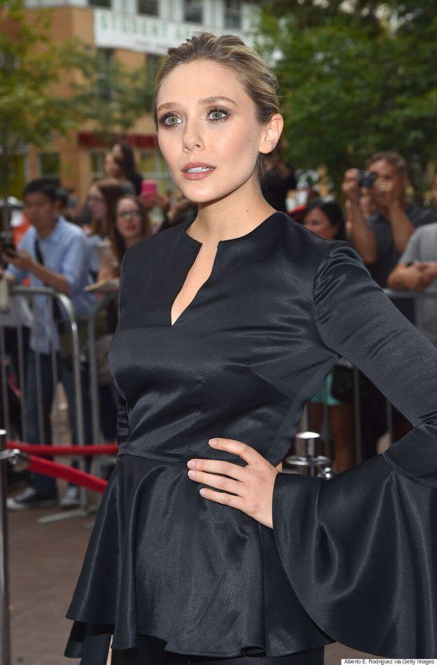 Elizabeth Olsen TIFF 2015: Pure Elegance In Juan Carlos