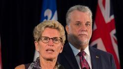 Ontario, Quebec Premiers Criticize Mulcair's Senate