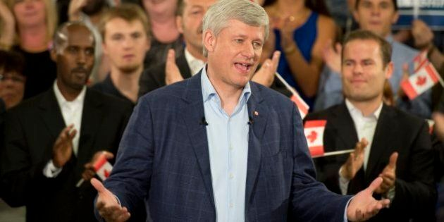 Harper's Conservatives Focus On Forging Victory In Election's Final