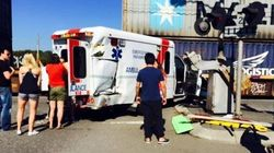 Patient Dies After Train Hits Ambulance In