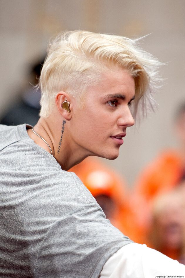 Justin Bieber Debuts Platinum Blond Hair On 'The Today