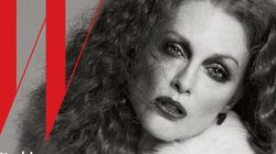 Julianne Moore Is Uncrecognizable On The Cover Of W