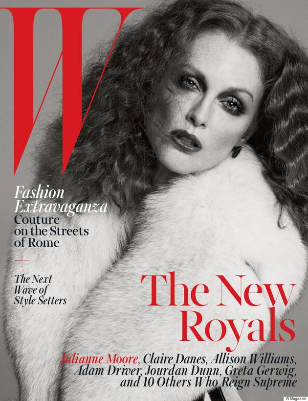 Julianne Moore, Claire Danes And More Cover W Magazine's October