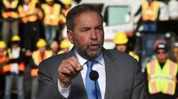 Mulcair Says He'll Resettle 10,000 Refugees Before New