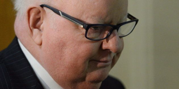 Harper: Mike Duffy Met The Bar For Being Able To Represent