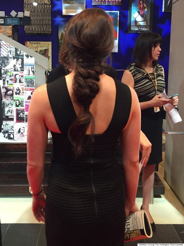 Tessa Virtue TIFF 2015: Olympian Stuns In Fringe On The Red