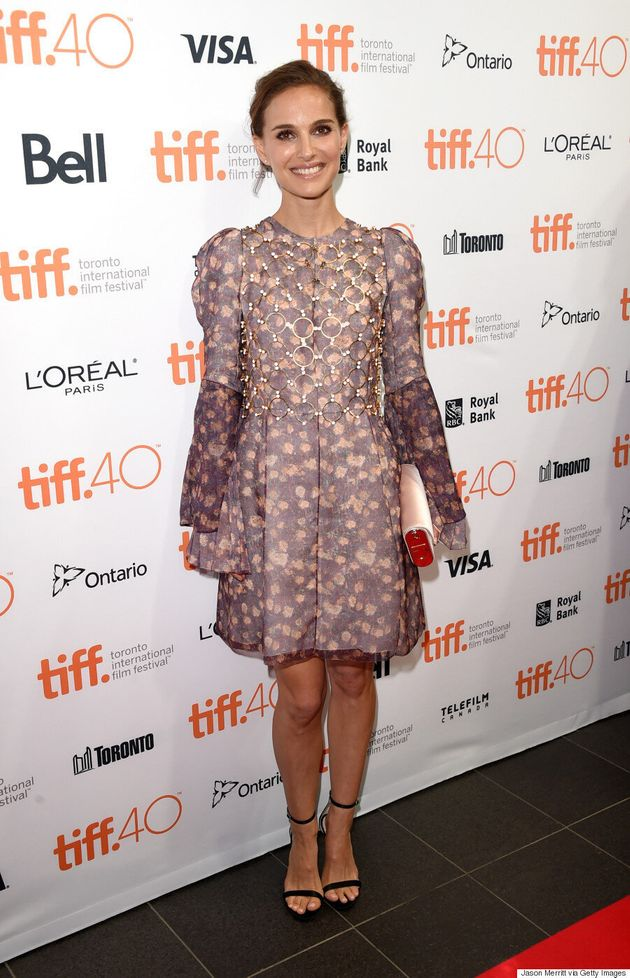 Natalie Portman TIFF 2015: 'A Tale Of Love And Darkness' Star Stuns In Christian