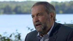 Mulcair Says He Would End Canada's Fight With