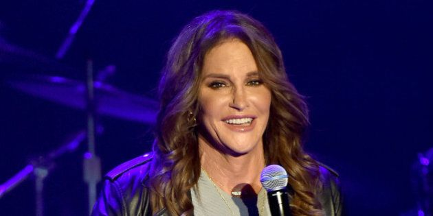 LOS ANGELES, CA - JULY 24: Caitlyn Jenner attends Culture Club's performance at the Greek Theatre on...