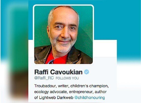 Raffi Is Among Most Active Twitter Users During Canada Election:
