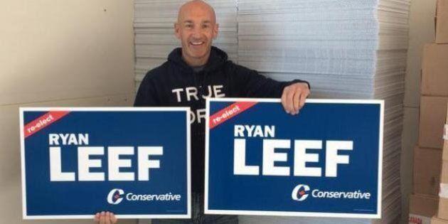 Ryan Leef's Citizen's Arrest Of Sign Vandal Politely Scolded By