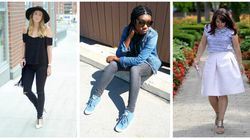 These Fashion Bloggers Demonstrate Perfectly How To Transition From Summer To