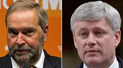 Harper, Mulcair Clash Over Canada's Role In Middle