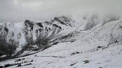 Tour Of Alberta Faces Snowfall