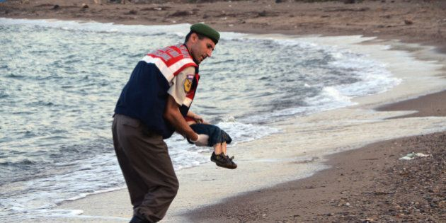 This Illustration Of The Drowned Syrian Boy Is Powerful And