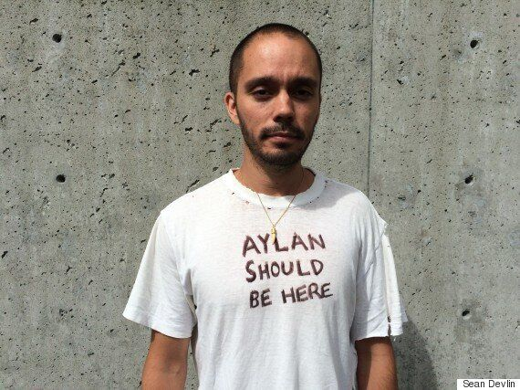 'Aylan Should Be Here': Protester Arrested At Harper Event In