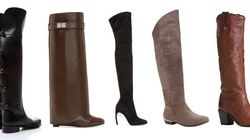15 Pairs Of Tall Boots For Every