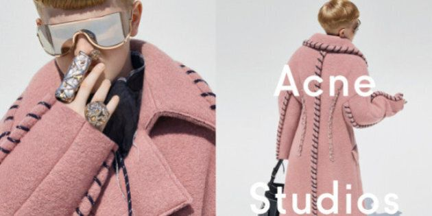 Acne Studios' Gender-Fluid Campaign Stars Creative Director's 11-Year-Old Son In