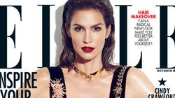 Cindy Crawford Discusses Unretouched Photo For First